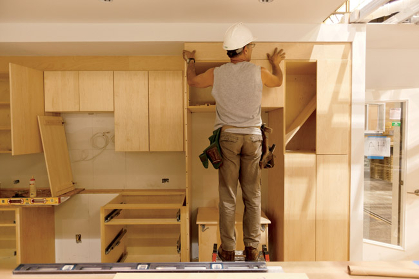 Gentil The Confessions Of A Carpenter In Singapore Carpenter Working On Cabinet