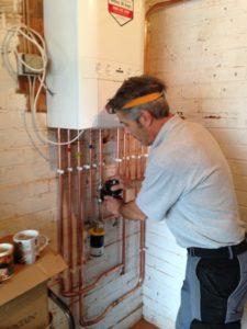 Combi boiler installation London